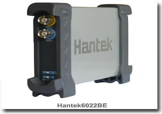 Hantek6022BE oscyloskop cyfrowy 2x20MHz przystawka oscyloskopowa