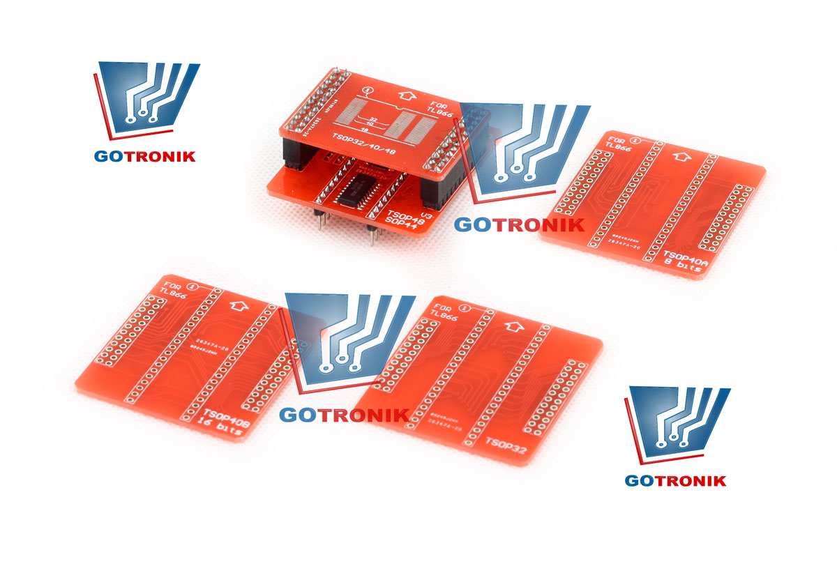 SN:001 Adapter TSOP32/40/48 do programatora TL866A TL866CS