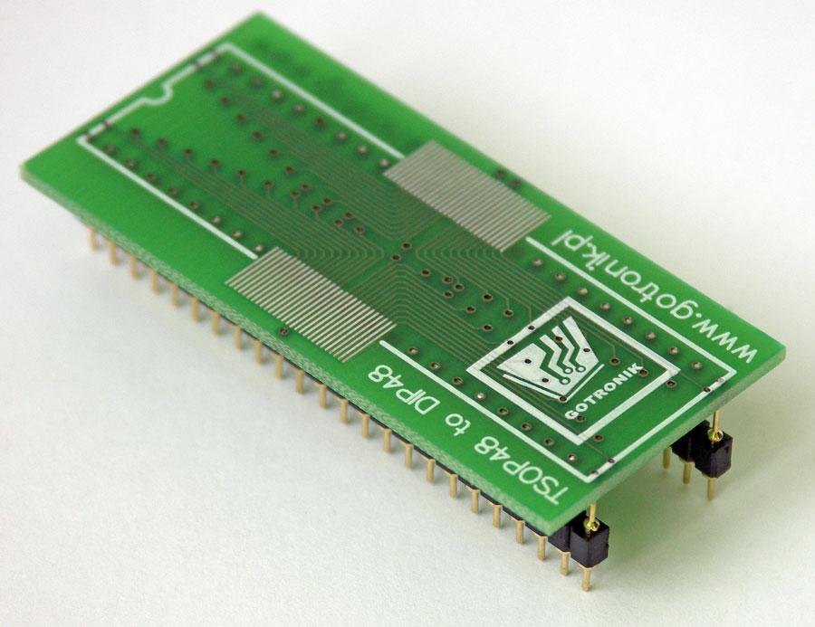 Adapter TSOP48 na DIP48