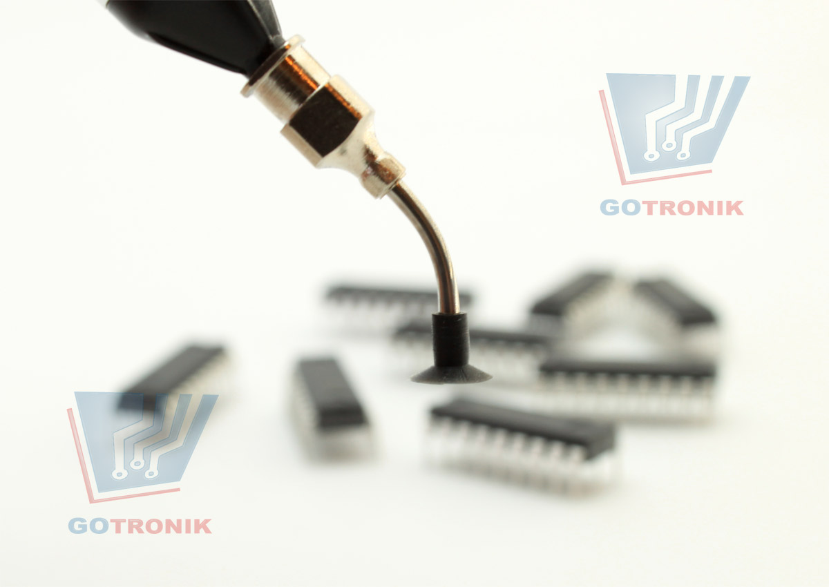 Chwytak różniowy do elementów elektronicznych