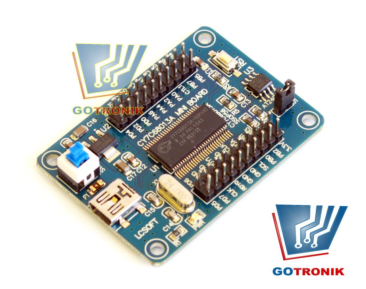 CY7C68013a miniboard LCSOFT USB