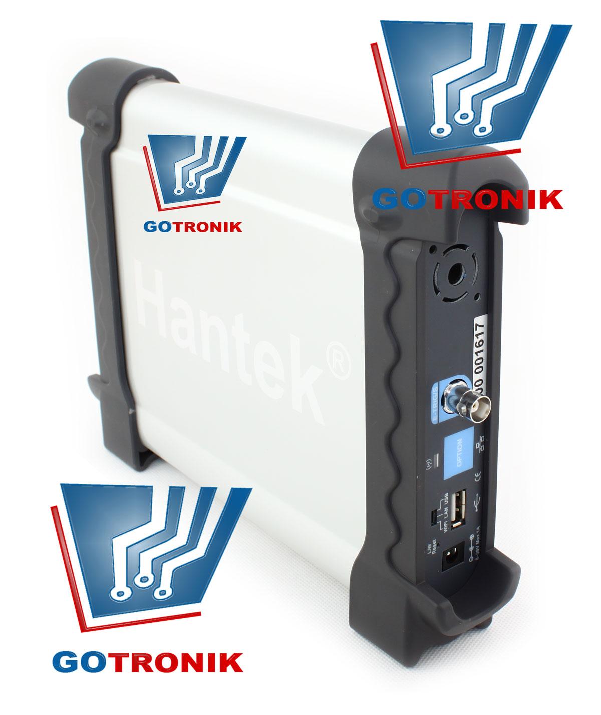 Oscyloskop cyfrowy USB DSO3064 produkcji Hantek