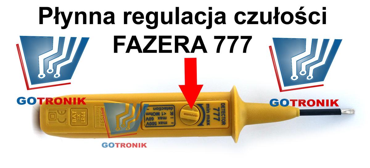 FAZER 777 DETECTOR