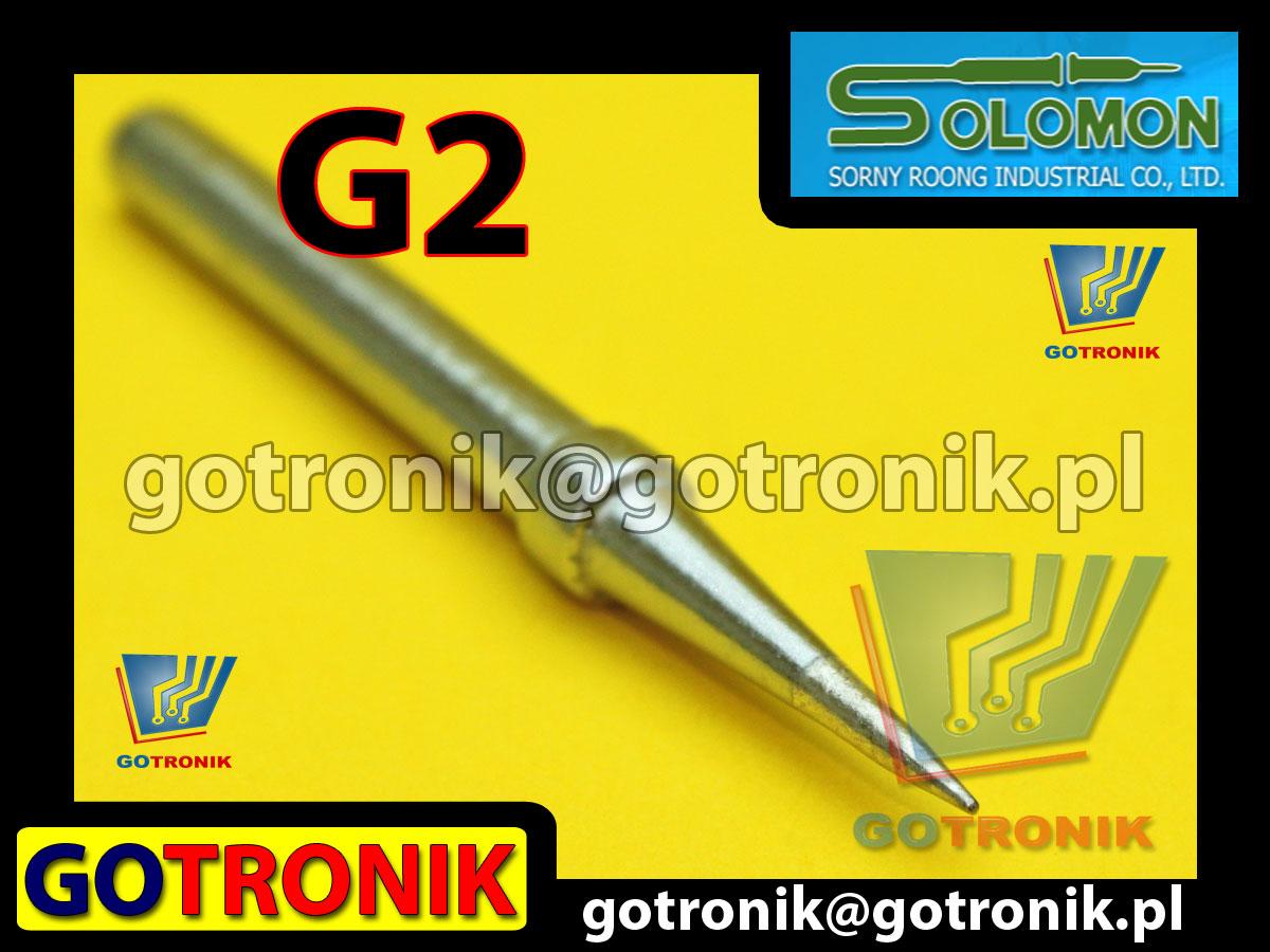 G2 grot do lutownic SR-965 SR965 produkcji SOLOMON