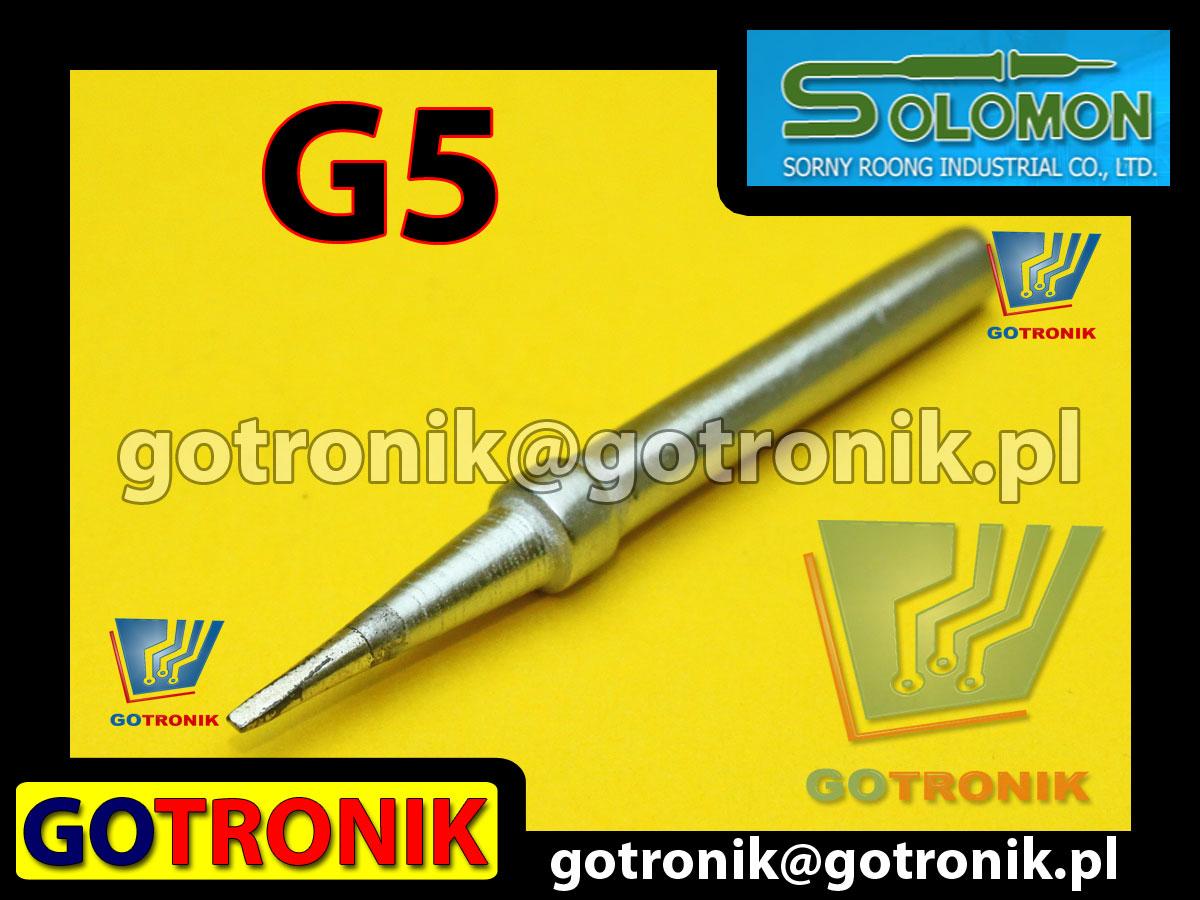 G5 grot do lutownic SR-965 SR965 produkcji SOLOMON