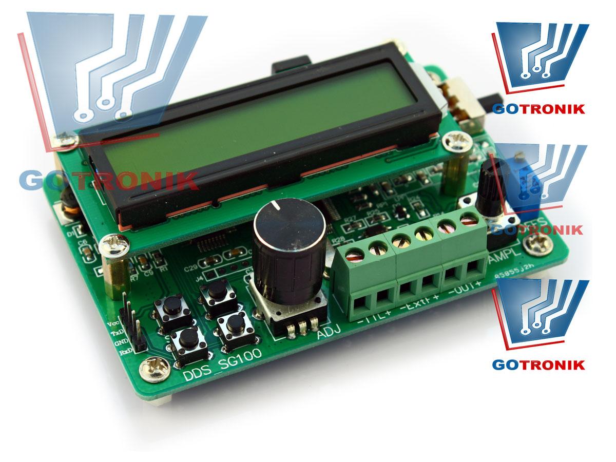 Generator funkcyjny DDS SG100x USB1000