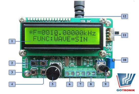 Generator sygnałowy DDS SG1000