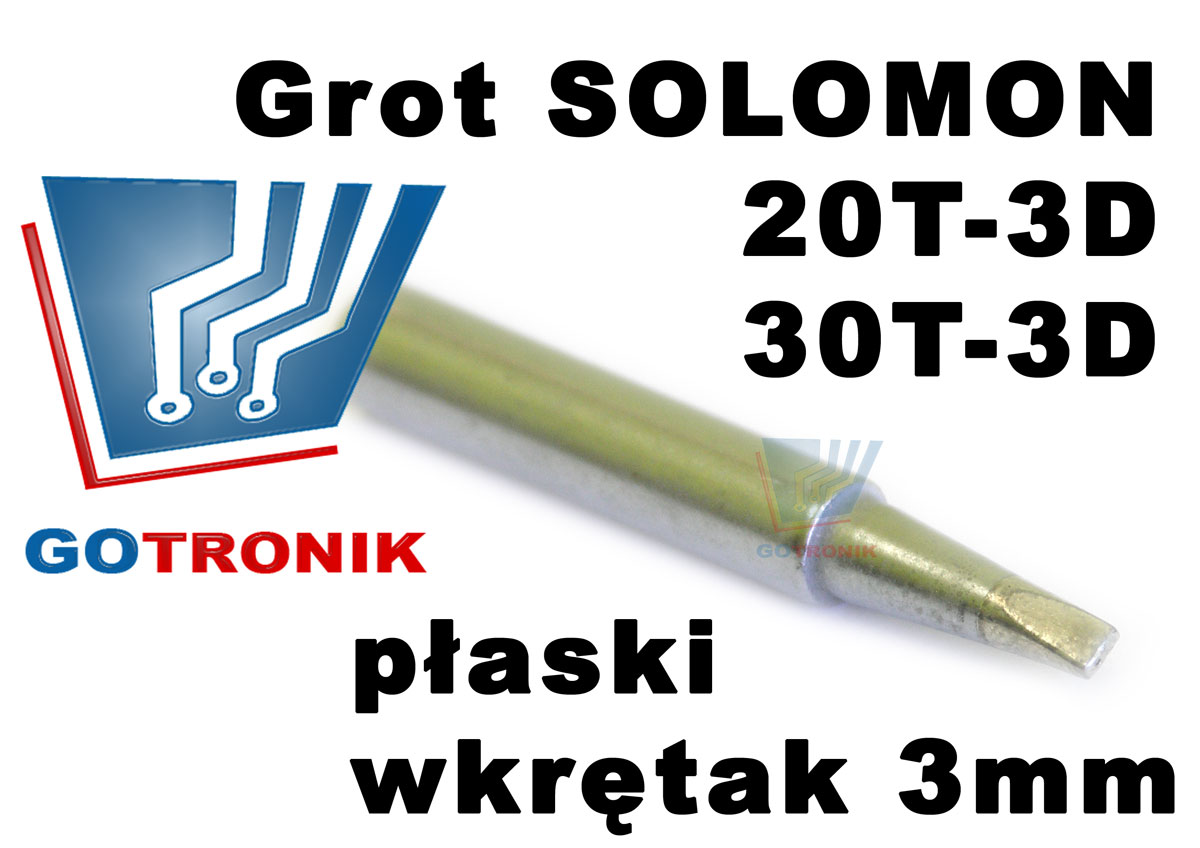 grot solomon 20t-3d 30t-3d