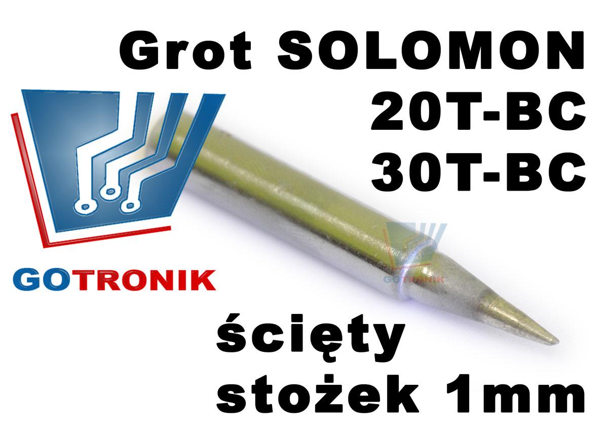grot solomon 20t-bc 30t-bc