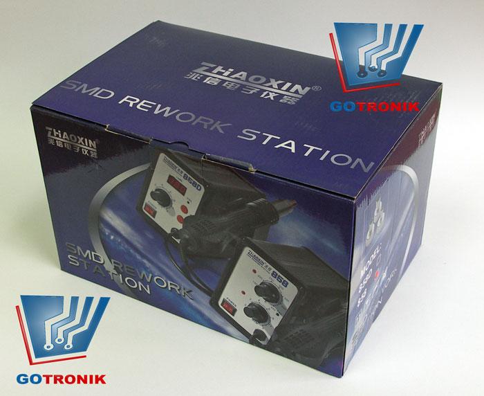 Stacja na gorące powietrze HOT-AIR Zaoxin 858