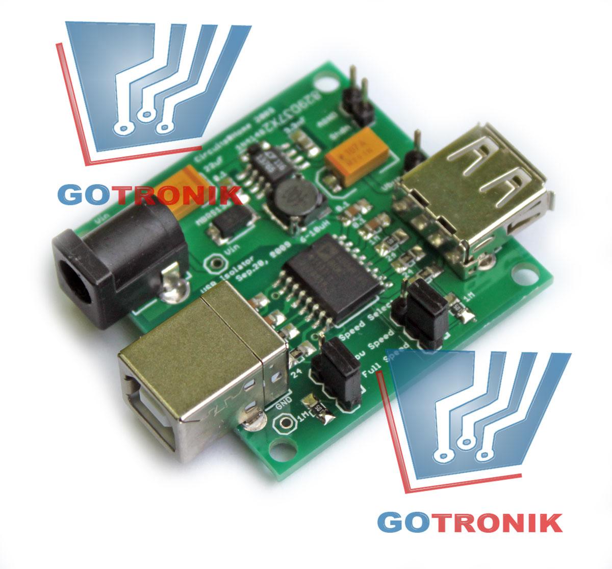 Izolator portu USB ADuM4160 SEPARATOR USB