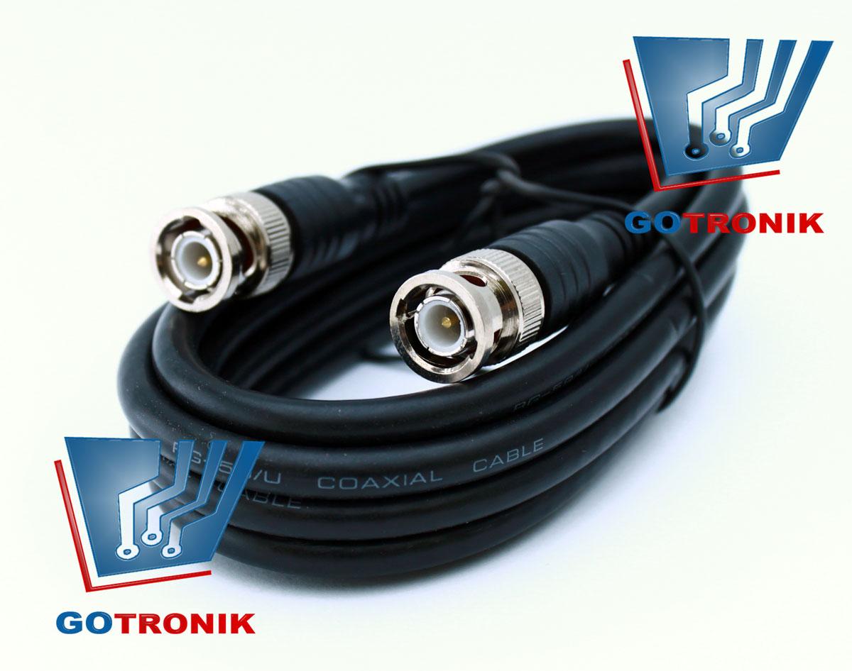 Kabel BNC - BNC 1,5m 75Ω