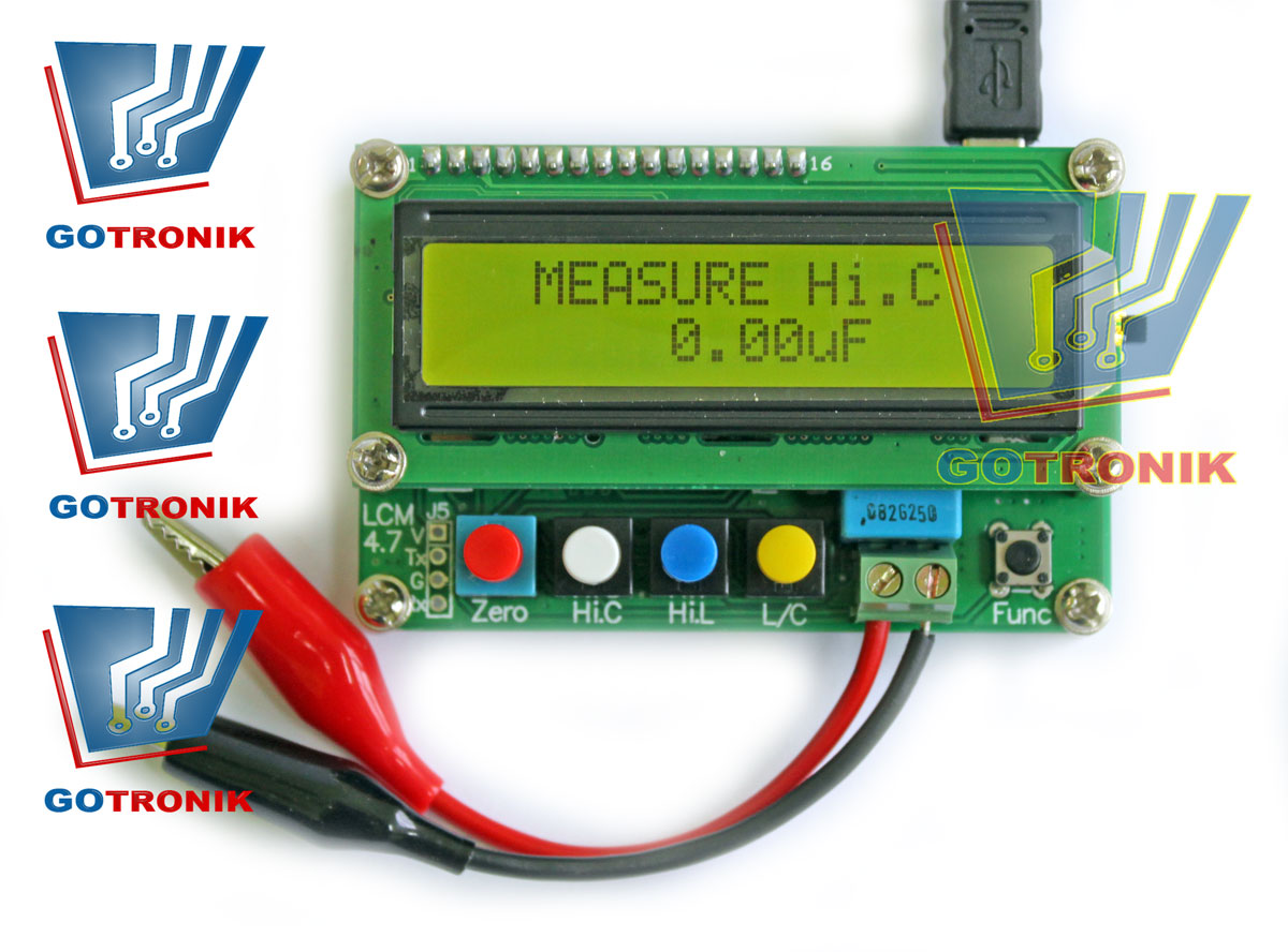 LC100-A Inductance Capacitance Meter Precision LC Meter