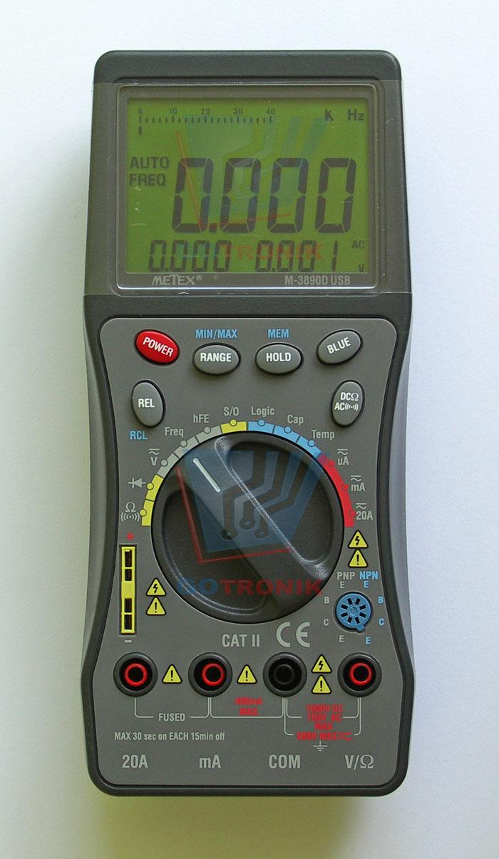 METEX m3890d