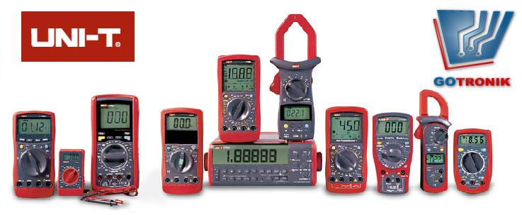 Multimetry, mieniki przyrządy pomiarowe Uni-t