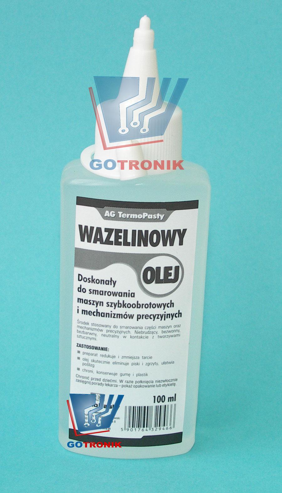 Olej wazelinowy (oliwiarka) 100 ml