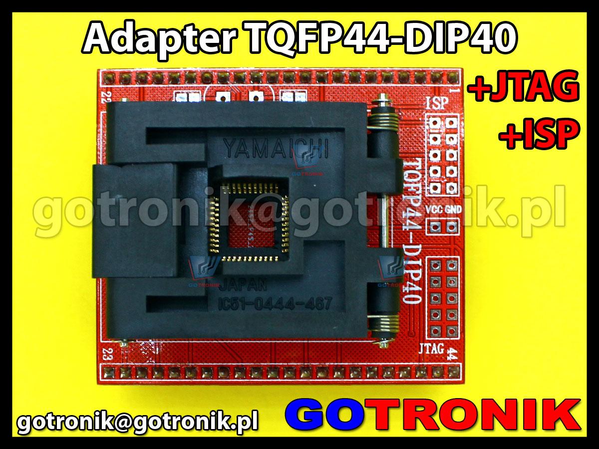 Переходник tqfp44 dip40