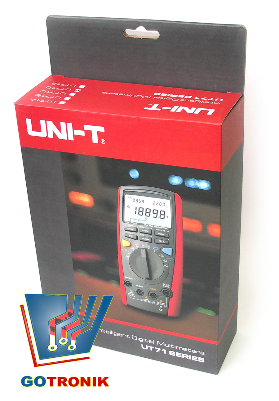 UT71D multimetr cyfrowy uniwersalny