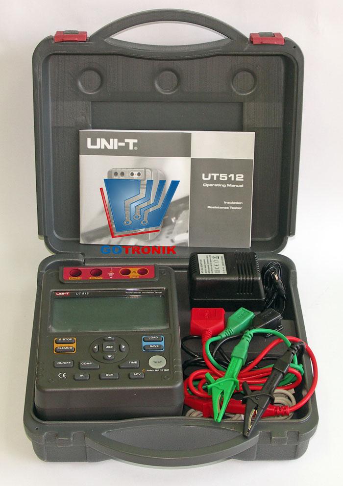 UT512 miernik rezystancji izolacji
