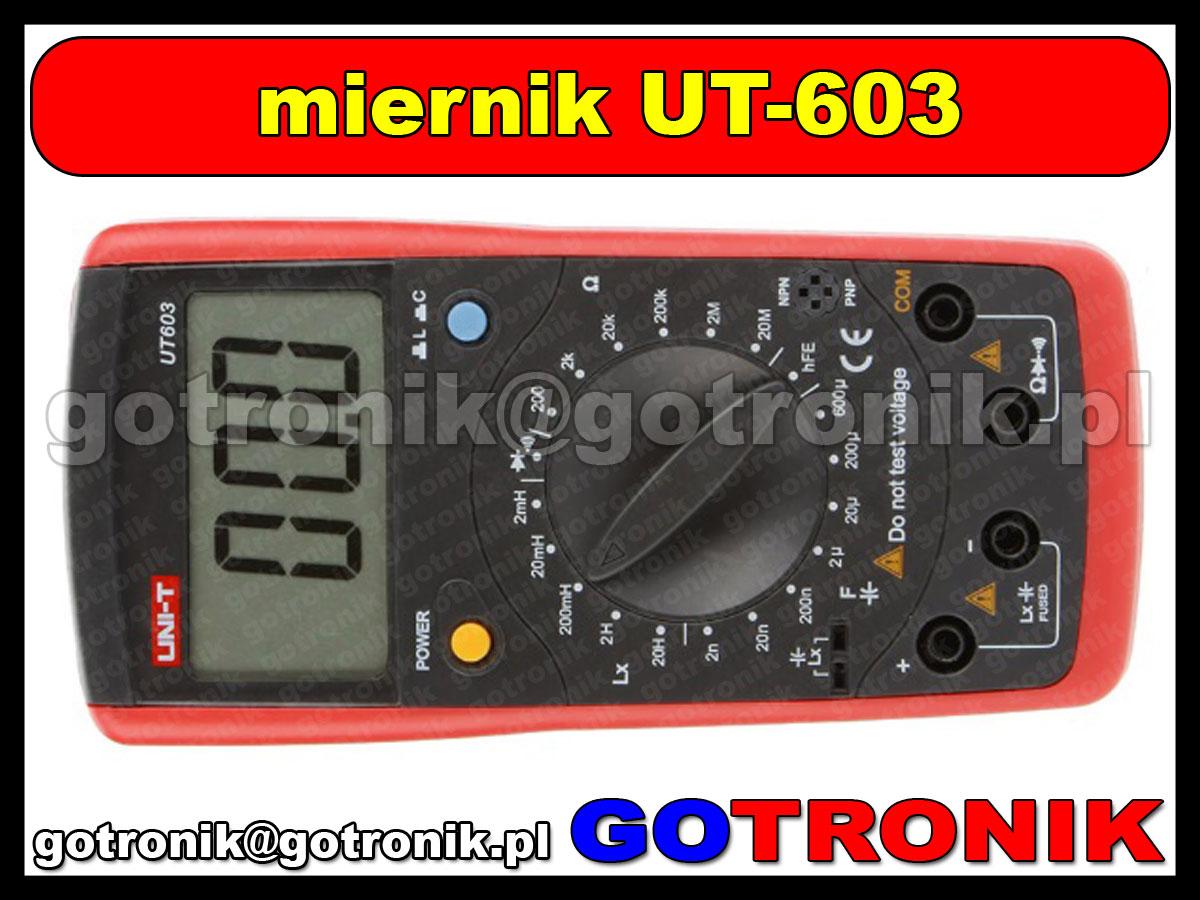 UT603 cyfrowy miernik RLC UT-603