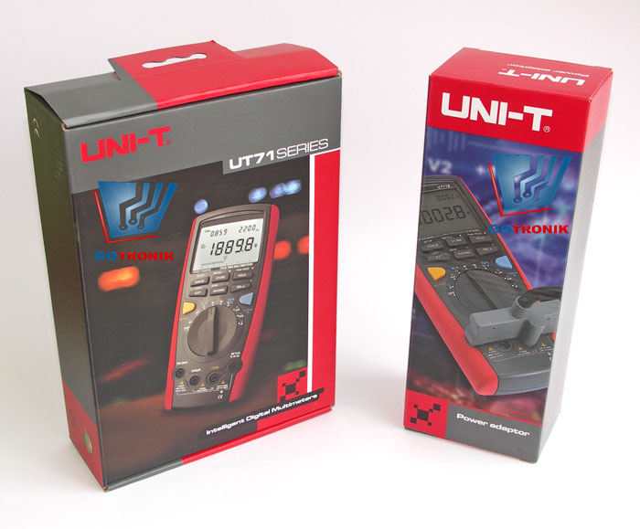 Multimetr uniwersalny UT71E firmy Uni-t