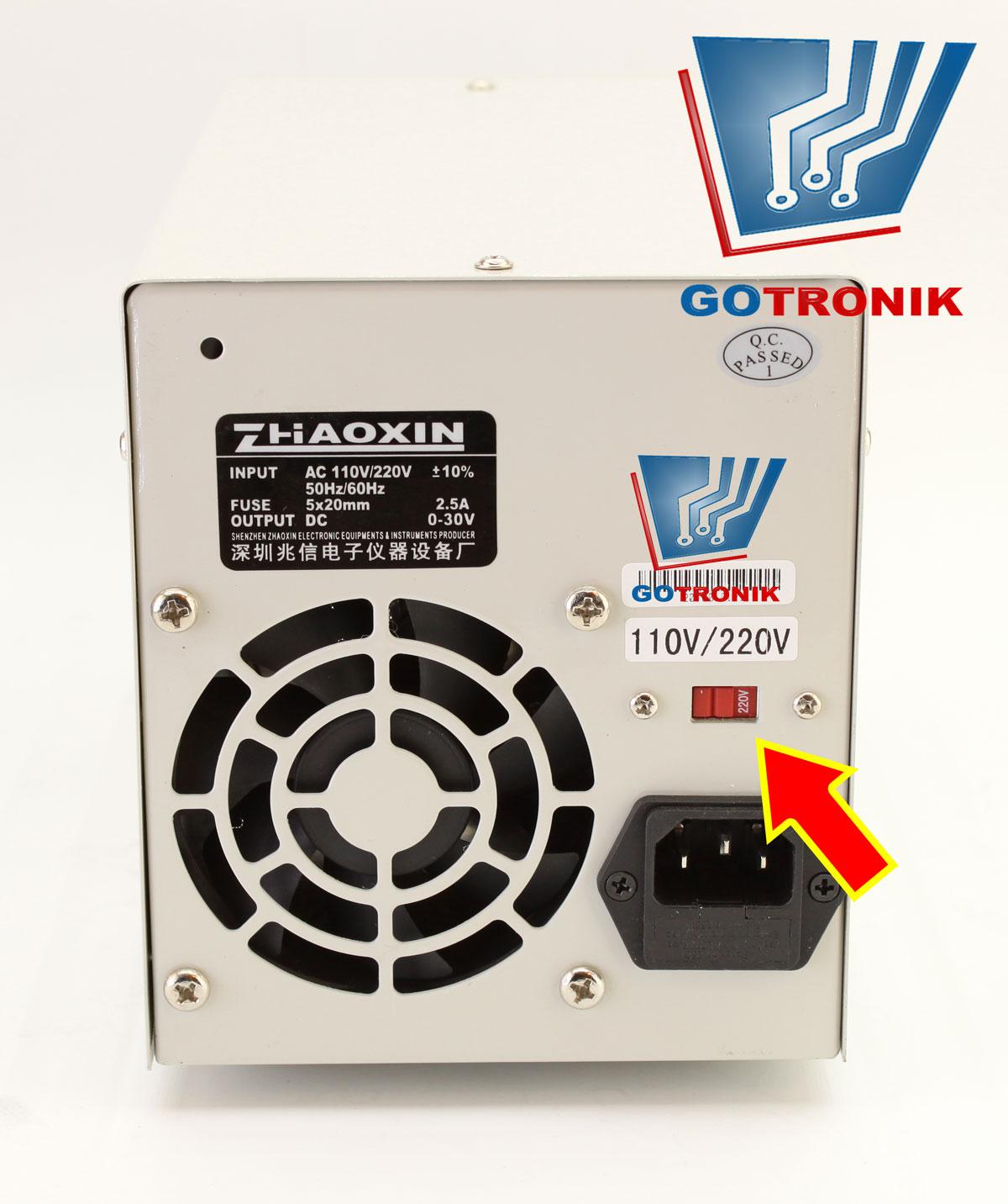 Zasilacz laboratoryjny PS-3005D ZHAOXIN