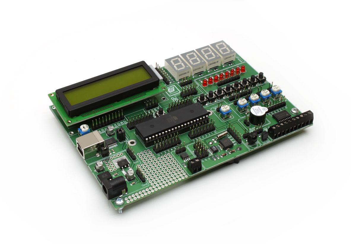 Moduł uruchomieniowy ATMEGA16 wersja 2.