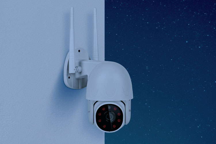 Kamera Wi-Fi zewnętrzna Kruger&Matz Connect C30 Tuya KM2207