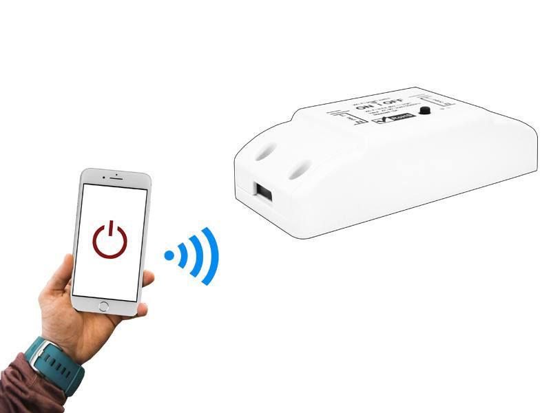 Sterownik jednokanałowy zdalnie sterowany WiFi LXU402