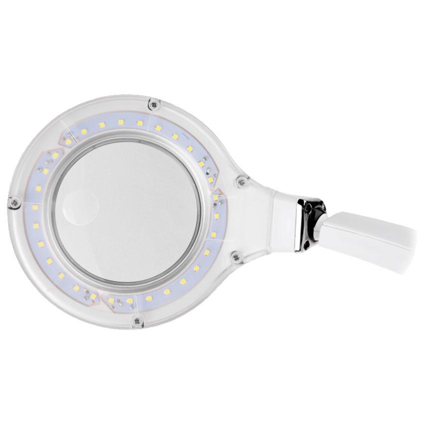 Lampa z lupą 3D +12D 30LED SMD stołowa z podstawą NAR0298-2 Rebel 5901890067751