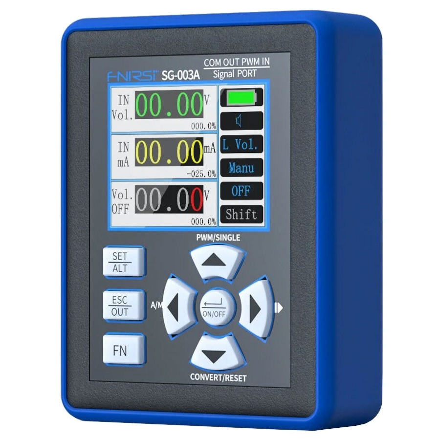 SG-003A przenośny kalibrator zadajnik 0-20mA 0-10V PWM SG003A