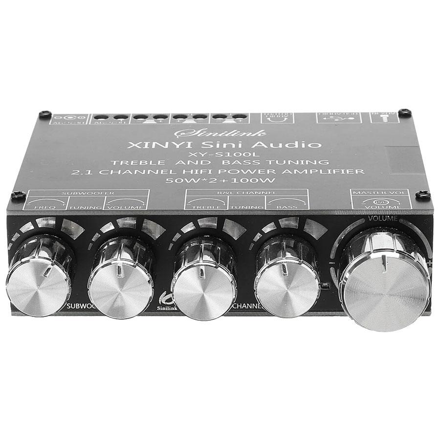 XY-S100L wzmacniacz audio 2 x 50W +100W subwoofer RBS-071 RBS071