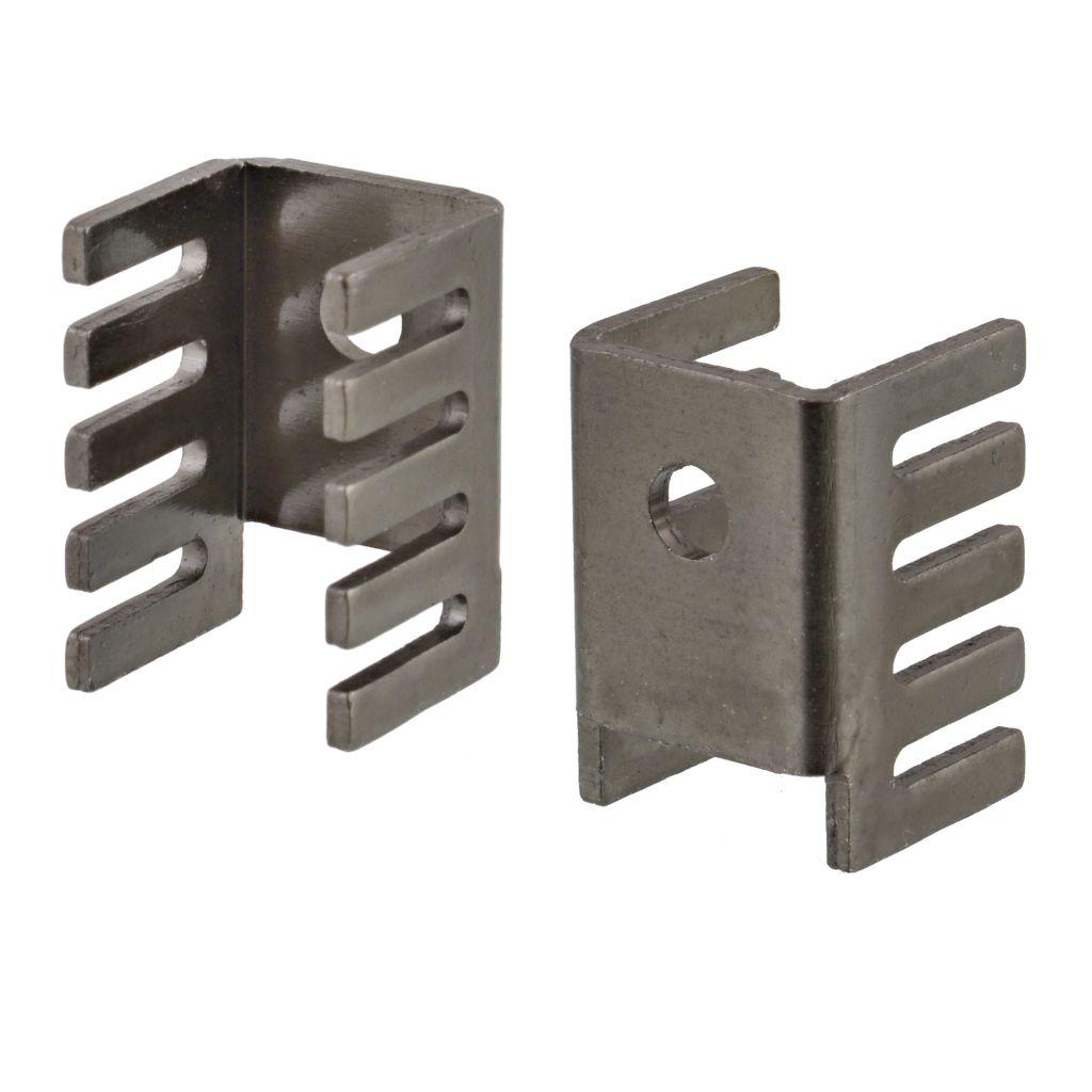 Aluminiowy anodowany radiator do obudów TO-220