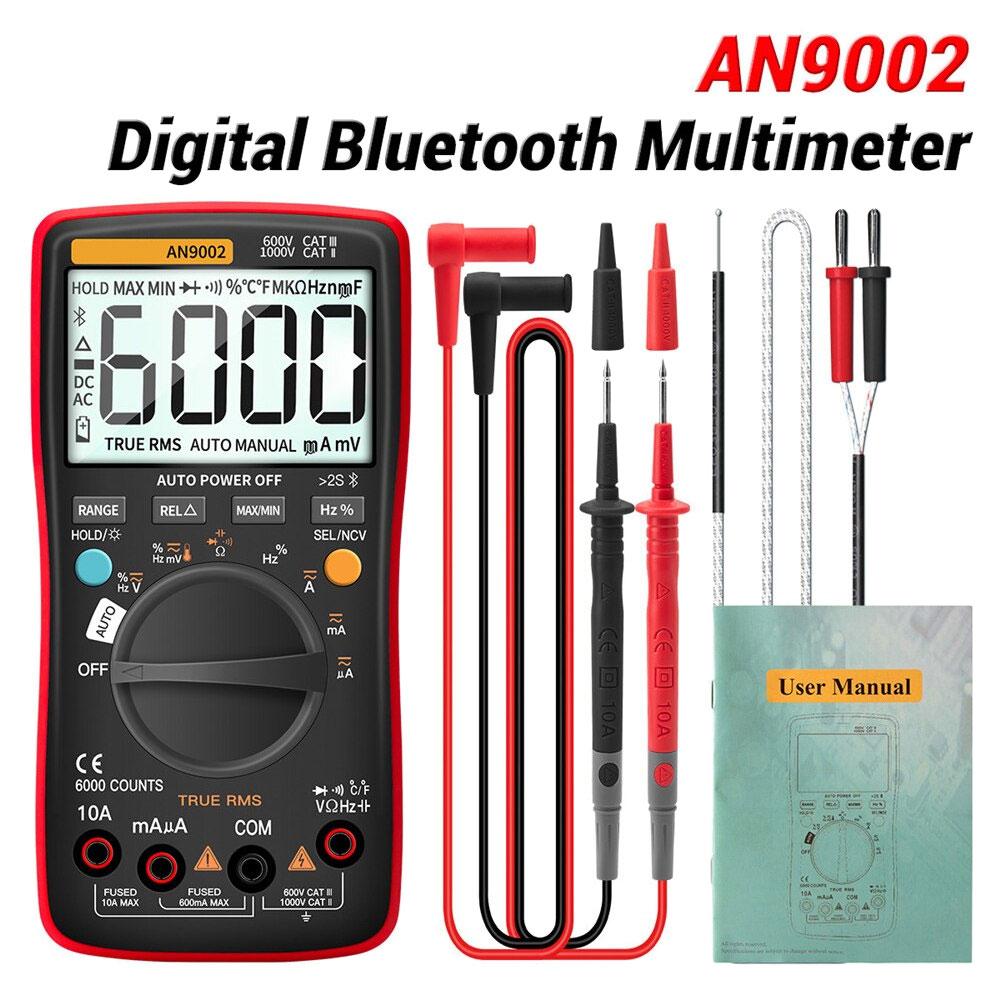 Miernik cyfrowy ANENG AN9002 TrueRMS Bluetooth