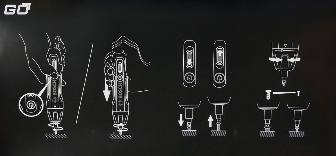 wkrętak elektryczny Bosch Go 2, śrubokręt elektryczny, wkrętarka, wkrętak akumulatorowy