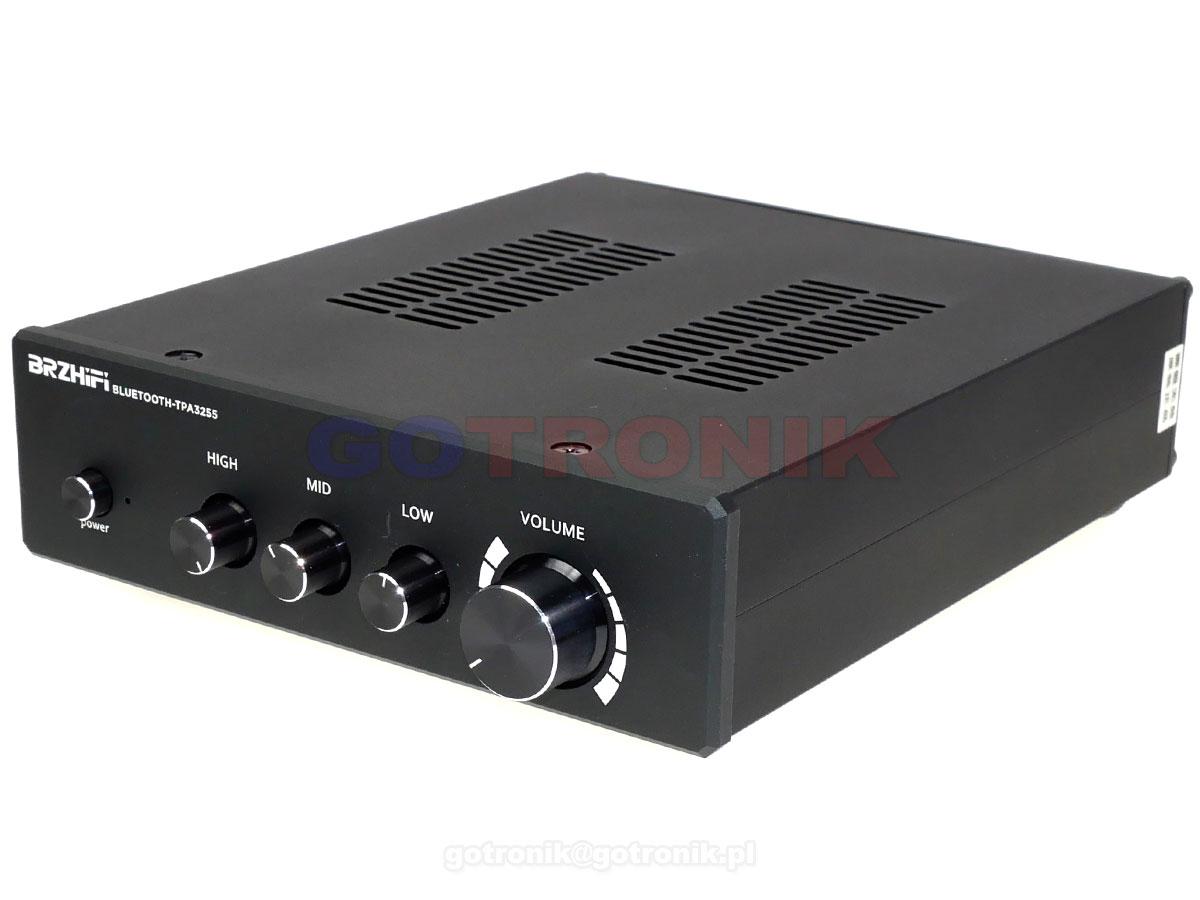 Wzmacniacz TPA3255 2x300W Bluetooth 5.0 czarny