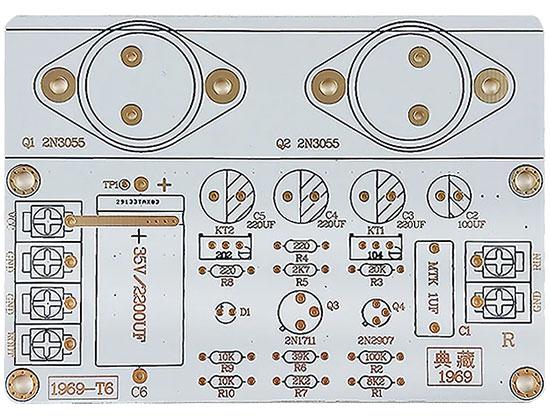 Wzmacniacz mocy klasa A 10W x2szt. monoblock J.L. Hood 1969 Lusya