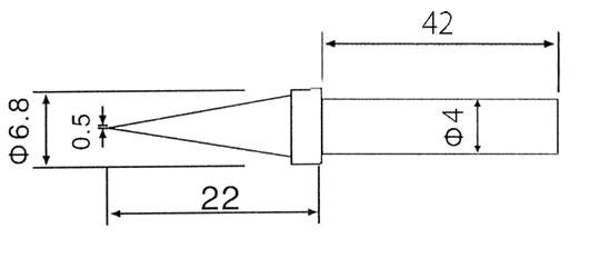 Stacja lutownicza ZD-98 30C 50W 160°C do 500°C LUT0040
