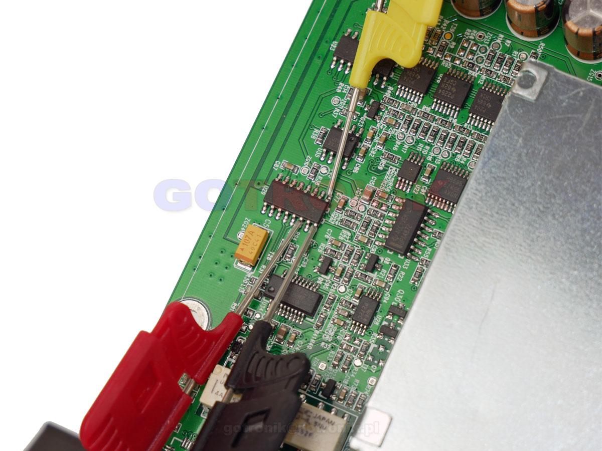 precyzyjne chwytaki pomiarowe mini mikro do programowania i odczytu układów scalonych smd bez wylutu SOP/SOIC/TSSOP/TSOP/SSOP/MSOP/PLCC QFP SMD i DIP
