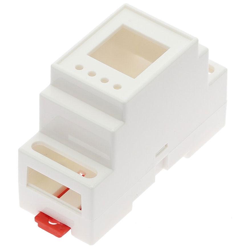 Obudowa dwuczęściowa na szynę DIN 88x37x59mm BIAŁA DIN-BOX-1