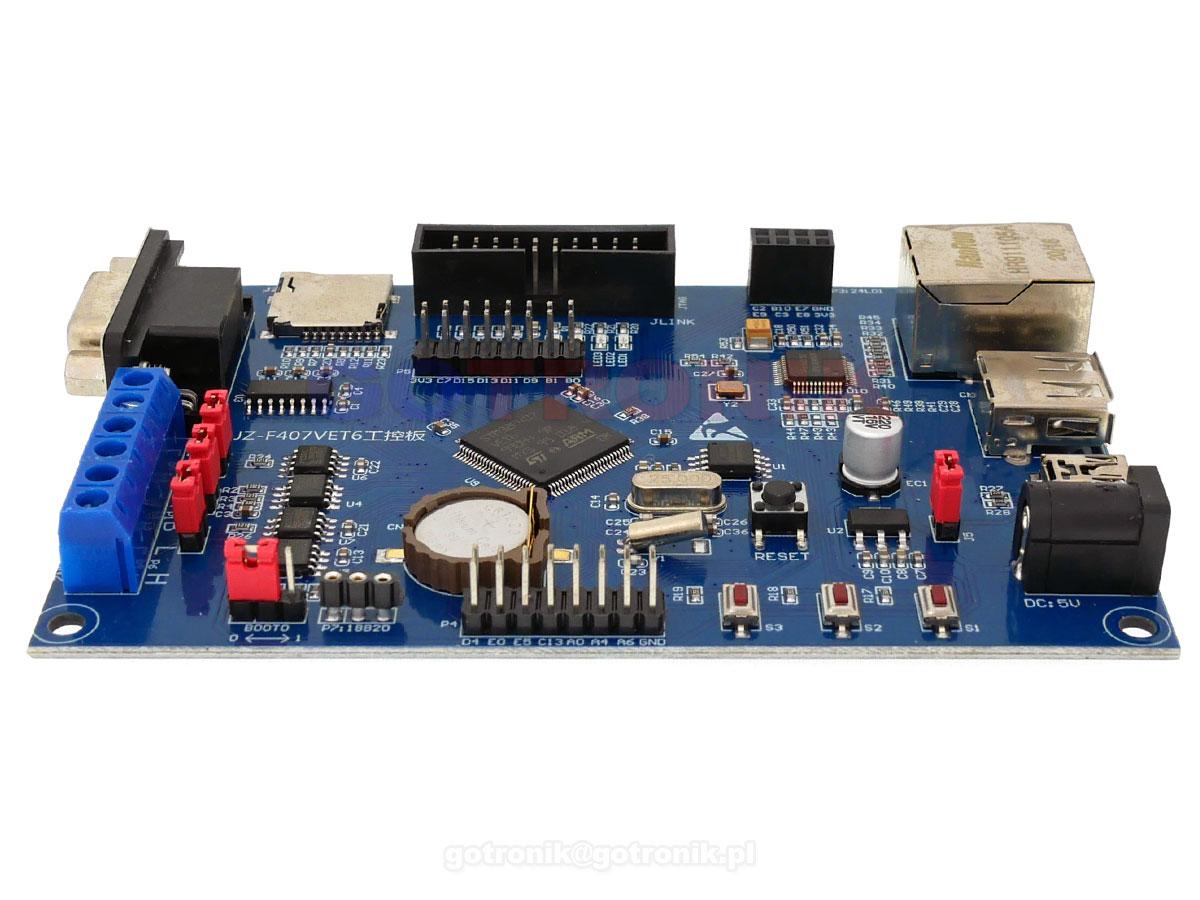 Płytka rozwojowa sterownika przemysłowego STM32F407VET6 ELEK-196 ELEK196