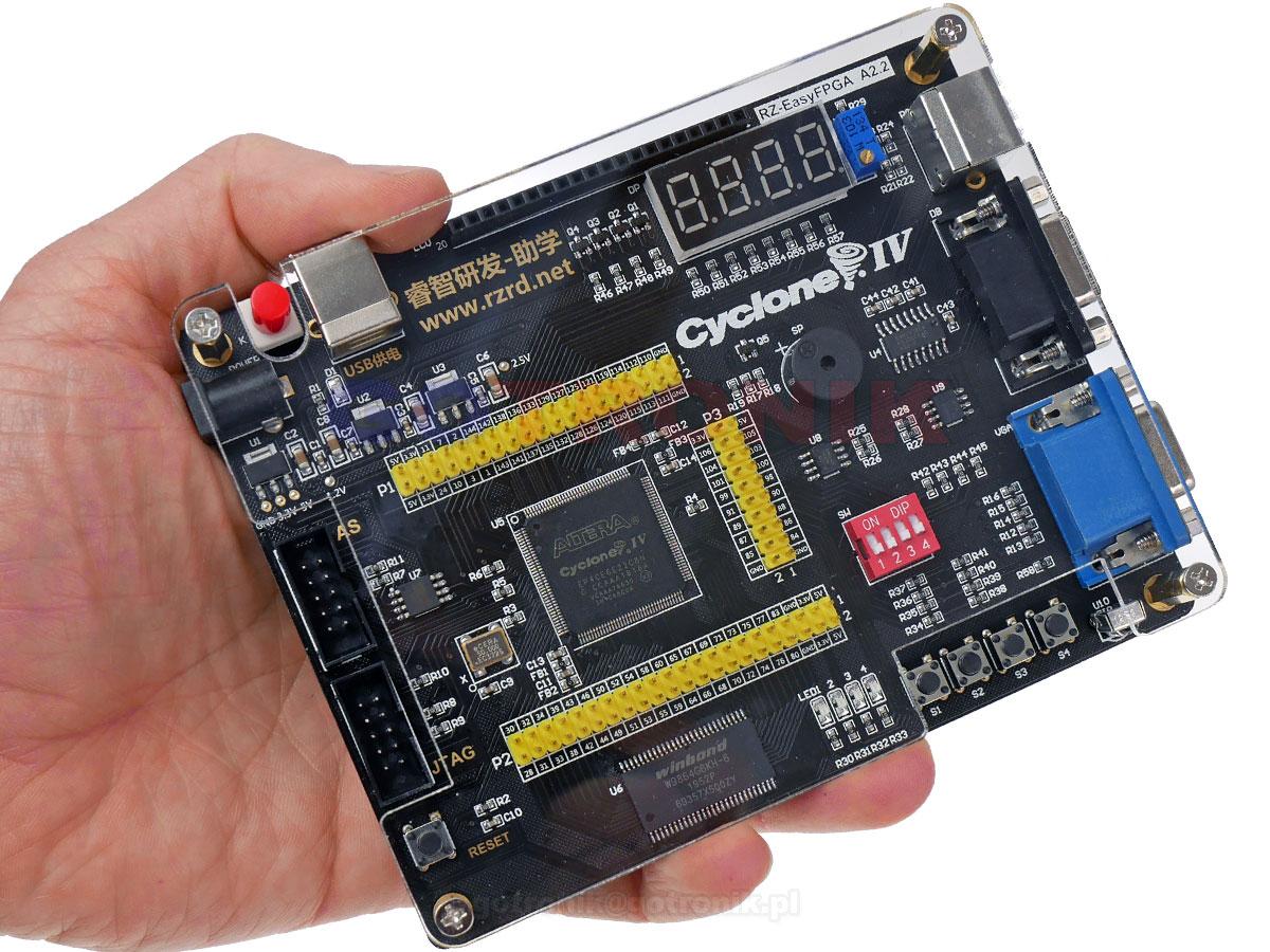 ALTERA Cyclone IV EP4CE6 FPGA Development Board Kit Altera EP4CE NIOSII FPGA Board and USB Downloader Infrared Controller ELEK-203 ELEK203