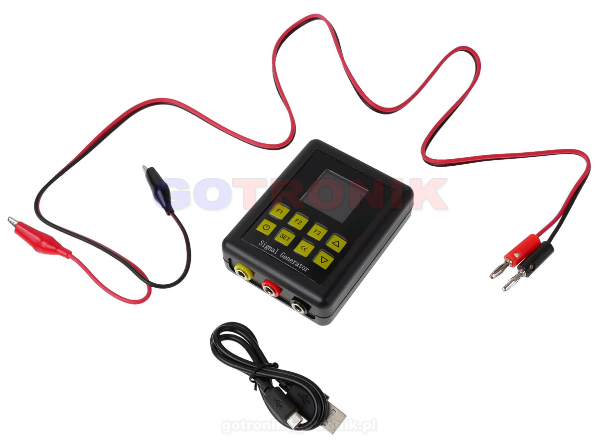 Zadajnik napięcia, prądu, impulsów, PWM oraz prosty generator ELEK-215 ELEK215