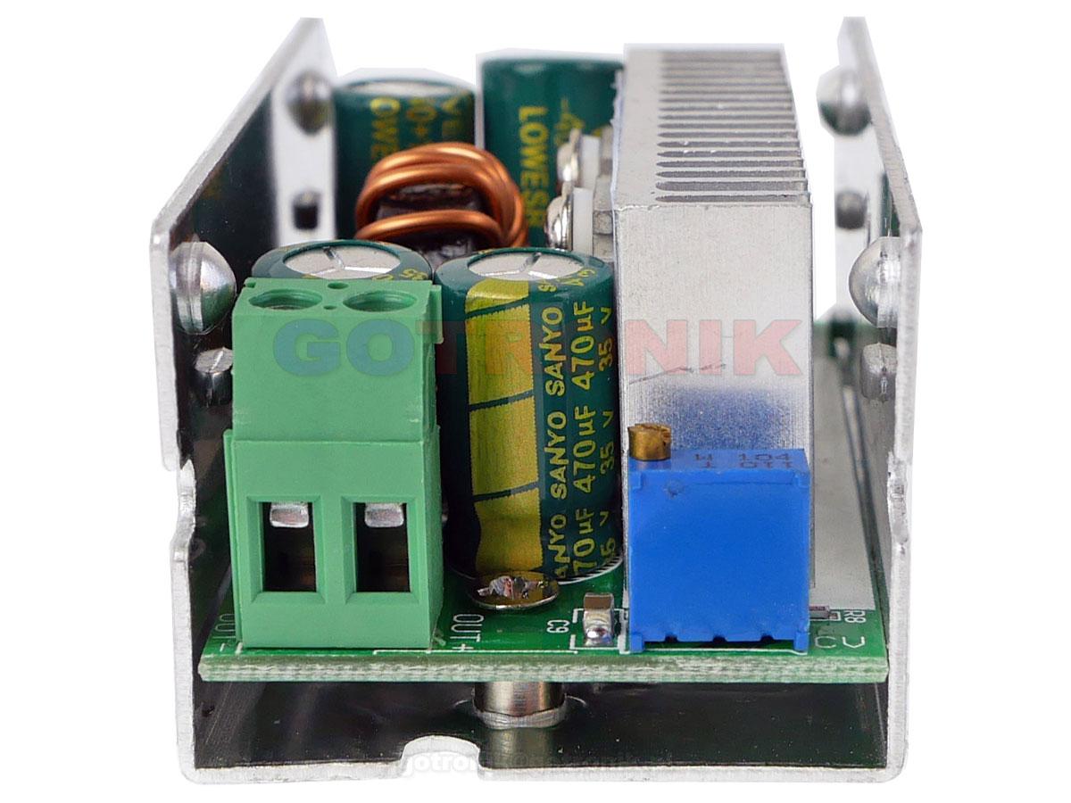 Przetwornica napięcia 1V do 36V 200W 10A impulsowa przetwornica step-down wyższe napięcie wejściowe obniża na swoim wyjściu ELEK-218 ELEK218