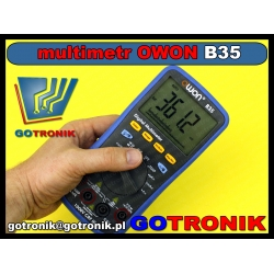 Multimetr uniwersalny B35 Owon + Bluetooth