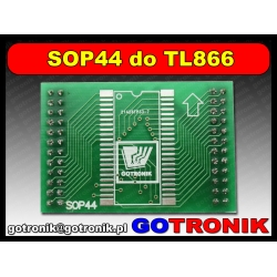 Adapter SOP44 do programatorów TL866A/CS