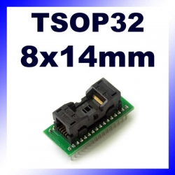 Adapter TSOP32 na DIP32 raster 0.5mm wymiar 8x14mm