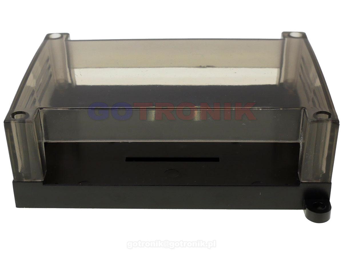 Obudowa dwuczęściowa na szynę DIN 125x90x40mm TS32 do sterownika PLC