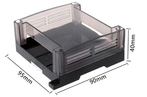 Obudowa dwuczęściowa na szynę DIN 95x90x40mm TS35 do sterownika PLC