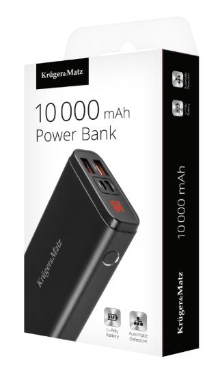 POWER BANK Kruger&Matz 10000 mAh Li-pol